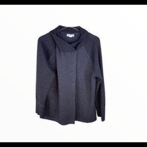 Artisan NY One Button Flowy Knit Wrap Jacket
